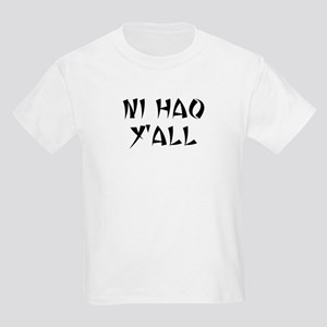 NI HAO Y'ALL Kids Light T-Shirt