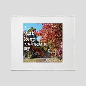 Keep Changing Demi Lovato Lyrics Edi Throw Blanket