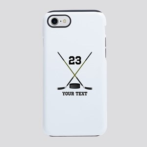 Ice Hockey Personalized iPhone 8/7 Tough Case
