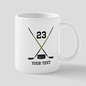 Ice Hockey Personalized 11 oz Ceramic Mug