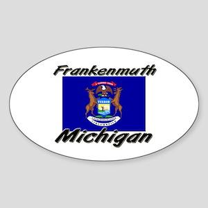 Frankenmuth Michigan Oval Sticker