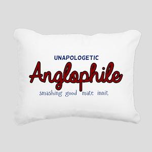 Anglophile Rectangular Canvas Pillow