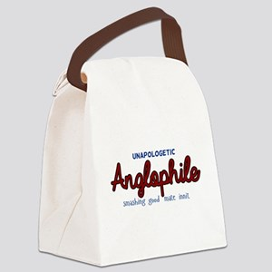 Anglophile Canvas Lunch Bag
