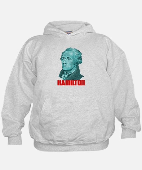 Alexander Hamilton in Green Sweatshirt