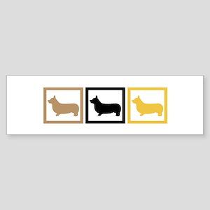 Corgi Sticker (Bumper)