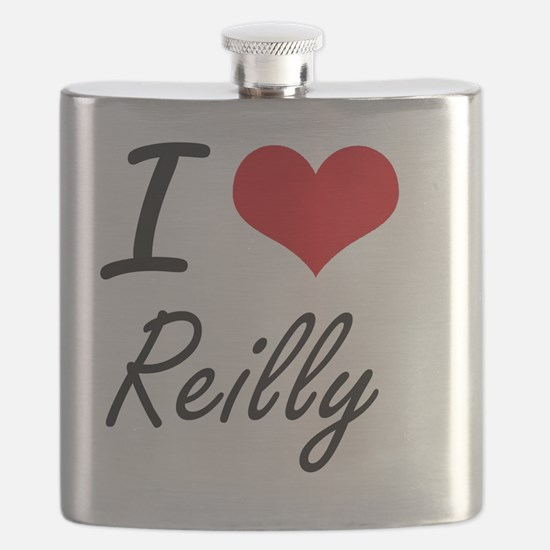 Cute Reilly family reunion Flask