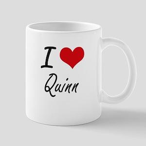 I Love Quinn artistic design Mugs