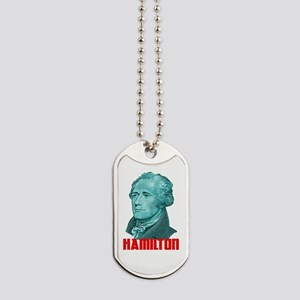 Alexander Hamilton in Green Dog Tags