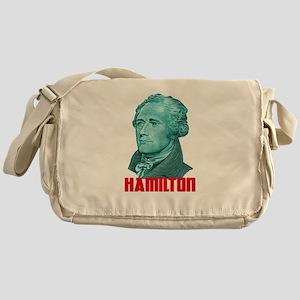 Alexander Hamilton in Green Messenger Bag