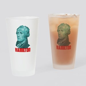 Alexander Hamilton in Green Drinking Glass