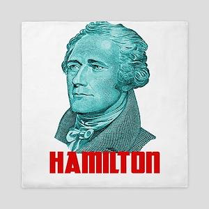Alexander Hamilton in Green Queen Duvet