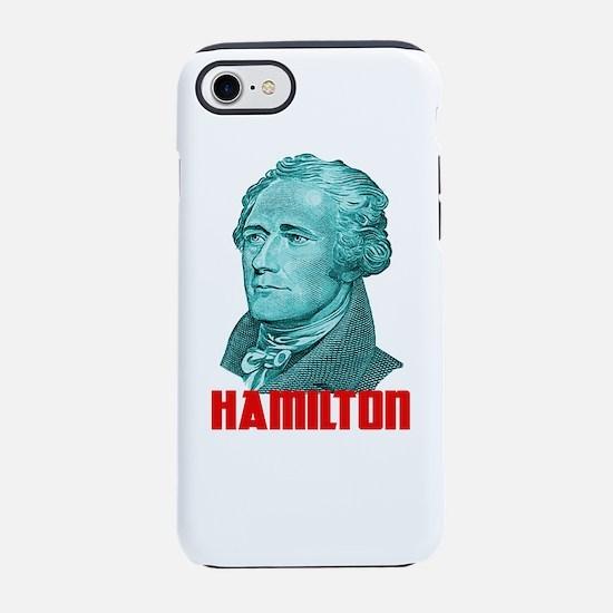 Alexander Hamilton in Green iPhone 8/7 Tough Case