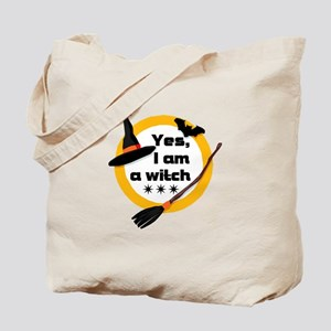 Yes, I am a witch! Tote Bag