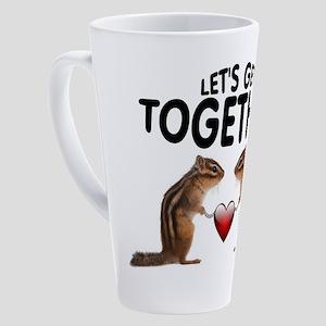 CHIPMUNKS 17 oz Latte Mug