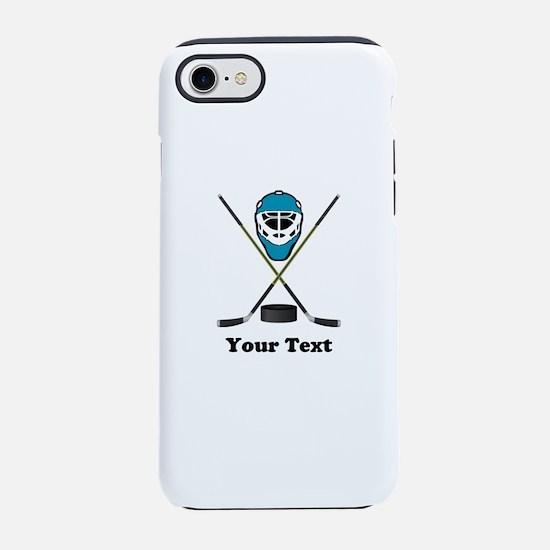 Hockey Goalie Personalized iPhone 8/7 Tough Case
