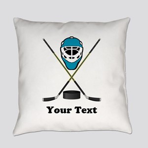 Hockey Goalie Personalized Everyday Pillow