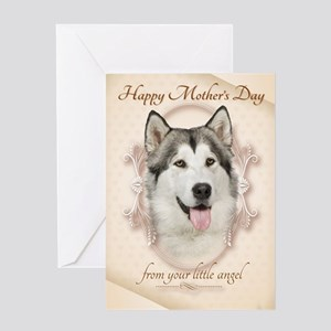 Husky Funny Mother's Day Greeting Cards