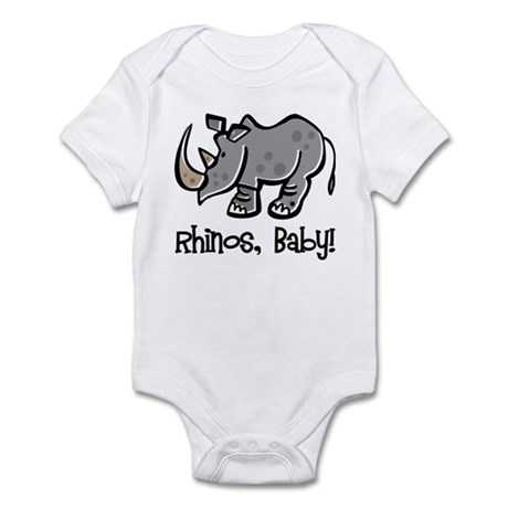 Rhinos, Baby! Infant Bodysuit