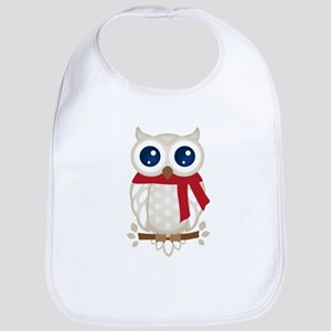 Winter Owl Bib