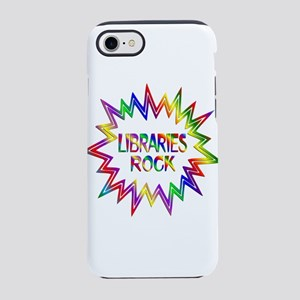 Libraries Rock iPhone 8/7 Tough Case