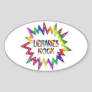 Libraries Rock Sticker