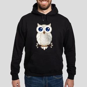 White Owl Hoodie (dark)