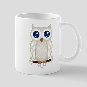 White Owl Mugs