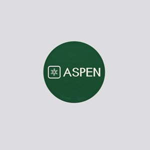 Snowflake: Aspen, Colorado Mini Button