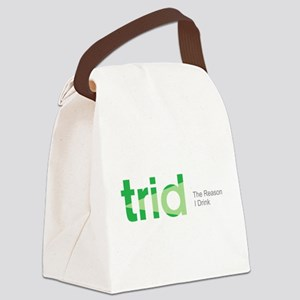TRID The Reason I Drink Canvas Lunch Bag
