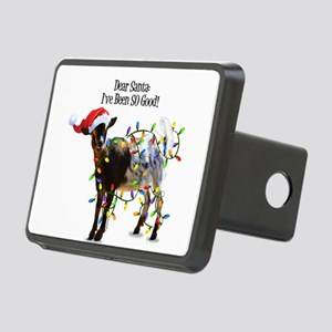 Christmas Goat I've Been S Rectangular Hitch Cover