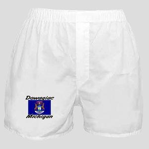 Dowagiac Michigan Boxer Shorts