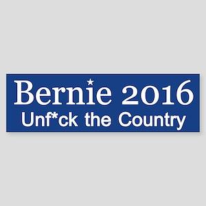 Bernie Unf*ck The Country Bumper Sticker
