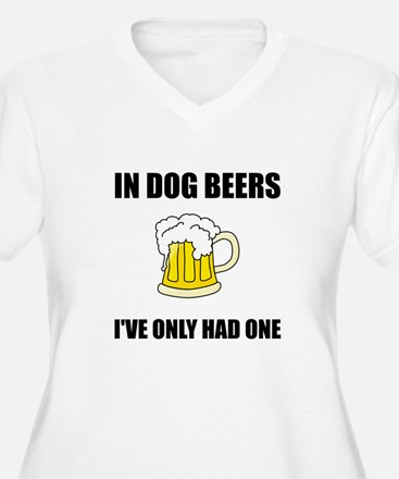 Dog Beers Plus Size T-Shirt