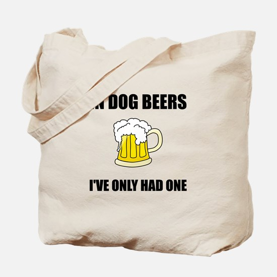 Dog Beers Tote Bag