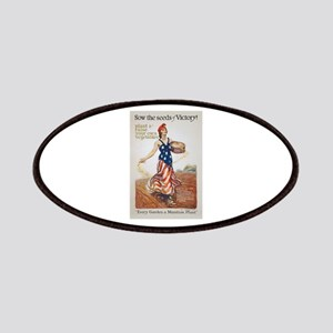 Victory Garden Liberty Sow Seeds WWI Propaga Patch
