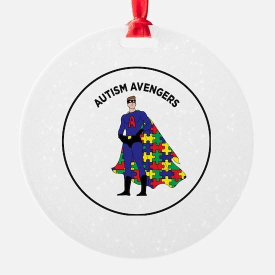 Unique Autism puzzle Ornament