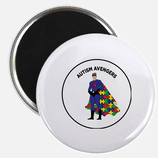 Cute Autism puzzle Magnet