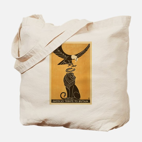 America's Tribute To Britain WWI Allies P Tote Bag
