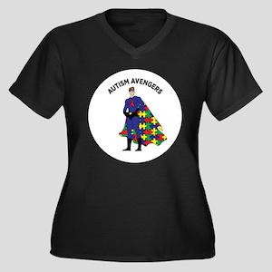 Autism Avenger Plus Size T-Shirt