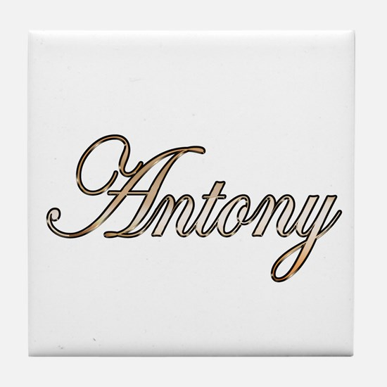 Cool Antony Tile Coaster