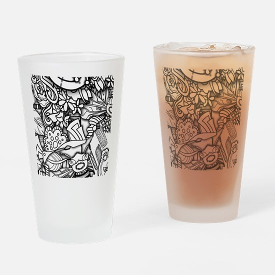 Cute Color your own Drinking Glass