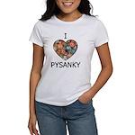 I love Pysanky 1 Women's T-Shirt