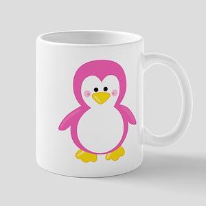 Pink Penguin Mugs