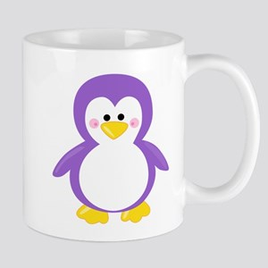 Purple Penguin Mugs