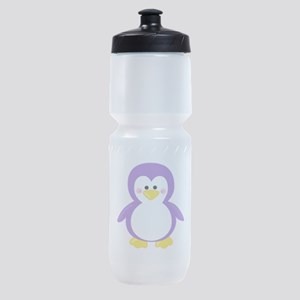 Purple Penguin Sports Bottle