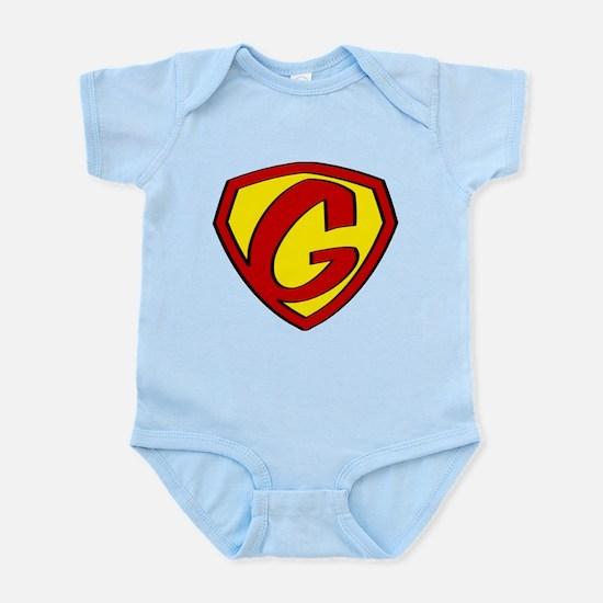 Super G Logo Costume 05 Body Suit
