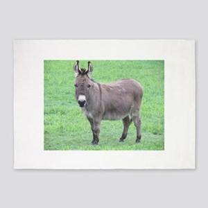 Merlin the Mini Donk 5'x7'Area Rug