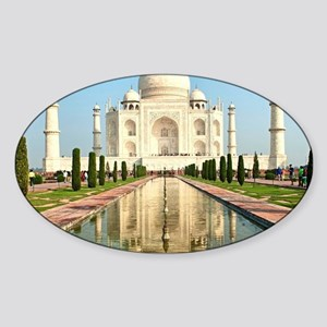 TAJ MAHAL Sticker (Oval)