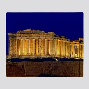 PARTHENON 2 Throw Blanket