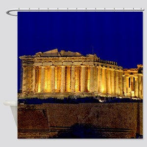 PARTHENON 2 Shower Curtain